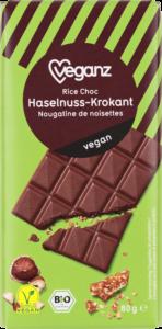 Rice Choc Haselnuss-Krokant von Veganz