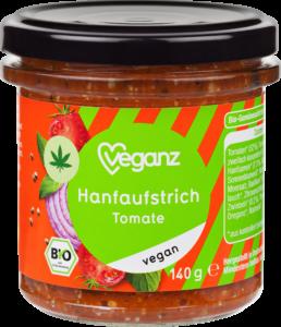 Hanfaufstrich Tomate von Veganz