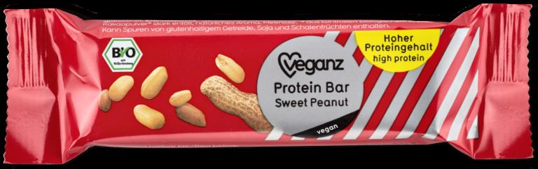 Protein Bar Sweet Peanut von Veganz