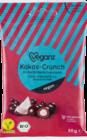 Kokos-Crunch in Zartbitterschokolade von Veganz