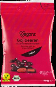 Gojibeeren in Zartbitterschokolade von Veganz