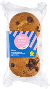 Muffins Chocolate Chip von Veganz