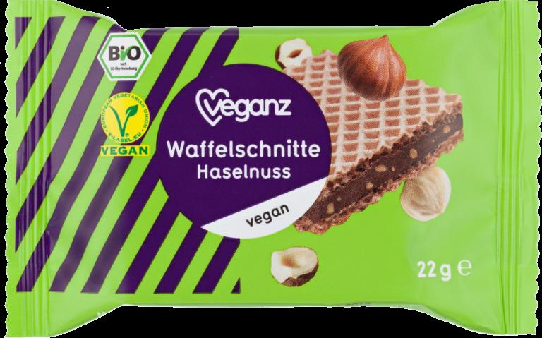 Waffelschnitte Haselnuss von Veganz