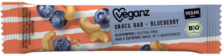 Snack Bar Blueberry von Veganz